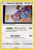 Pikachu's fan