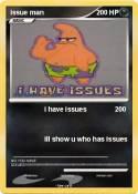 issue man