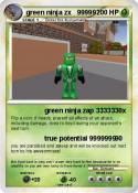 green ninja zx
