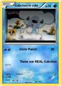 Cubchoo is cute