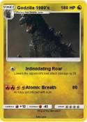 Godzilla 1980's