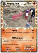 M spray paint