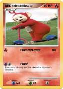 RED teletubbie