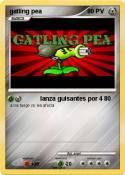 gatling pea