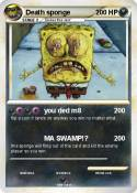 Death sponge