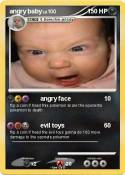 angry baby
