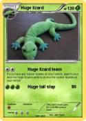 Huge lizard