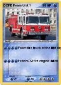 DCFD Foam Unit