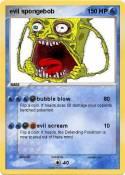 evil spongebob
