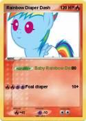 Rainbow Diaper
