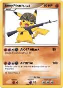 Army Pikachu
