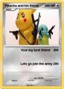 Pikachu and his