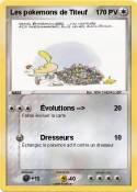 Les pokemons de
