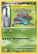 Pokémon: Leaf