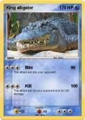 King alligator