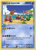 match de beach