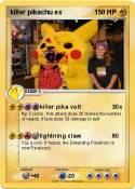 killer pikachu