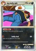 big belly ash