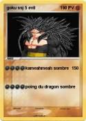 goku ssj 5 evil