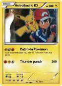Ash-pikachu EX