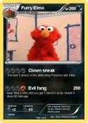 Furry Elmo