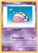 Sleepy Kirby