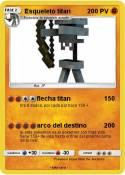 Esqueleto titan