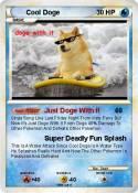 Cool Doge