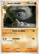 Gorila safadão