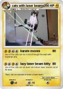 cats with laser