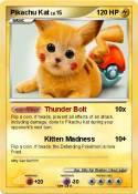 Pikachu Kat
