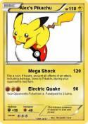 Alex's Pikachu
