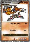 Fouine robot