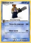 Chainsaw dude