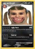 ugly gorilla