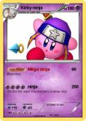 Kirby ninja