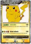 pikachu through