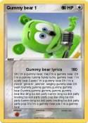Gummy bear 1 1