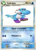 Yoshi bleu