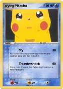 crying Pikachu