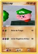 Kirby Luigi