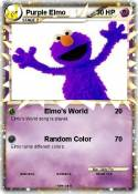 Purple Elmo