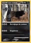 mastiff noir