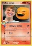the fred orange