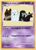 m@itre et chien