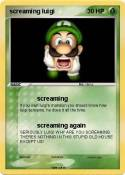 screaming luigi