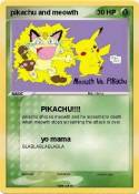 pikachu and