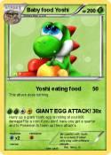 Baby food Yoshi