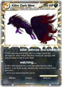 Killer Dark Mew