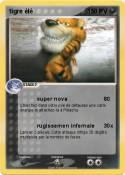 tigre élé